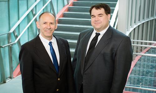 Sheldon Jacobson and Douglas King, developers of a new algorithm for state legislators.